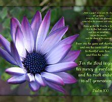 Joyful - Psalm 100 by BlueMoonRose