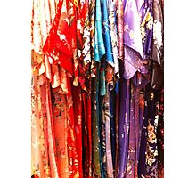Colorful Kimonos Photographic Print