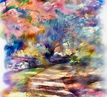 Like Walking in a Rainbow by Carolyn Staut