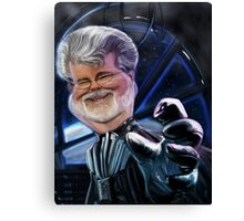 Darth Lucas Canvas Print