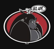 Go, Ape. (colour) by jayveezed