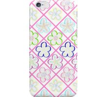 Freckled Flowers Quilt iPhone Case/Skin