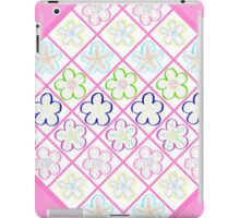 Freckled Flowers Quilt iPad Case/Skin