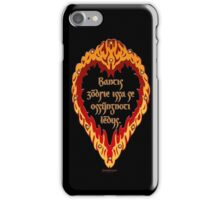The Night is Dark and Full of Terrors (Valyrian) iPhone Case/Skin
