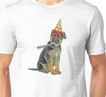 German Shepherd Birthday Unisex T-Shirt