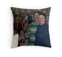 The Flax Mill..Herman and Marion Baur Throw Pillow