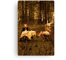 Care for some Tea ? Canvas Print