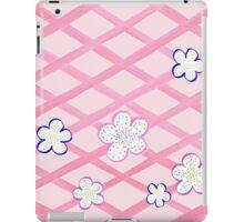 Baby Pink Flower Garden iPad Case/Skin