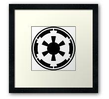 Galactic Empire Emblem Framed Print