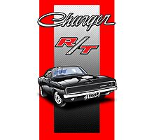 1969 Dodge Charger Photographic Print