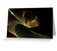net neg abstract 6 Greeting Card