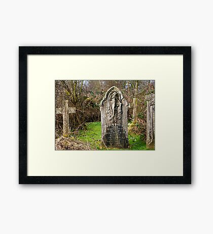 In Loving Memory Framed Print