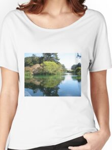 Stow Lake Reflections Women's Relaxed Fit T-Shirt