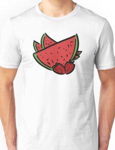 Watermelon and Strawberries Unisex T-Shirt