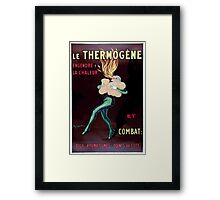 Leonetto Cappiello A fire eater kindling fire in his lungs with the remedy Ther Wellcome L0027813 Framed Print