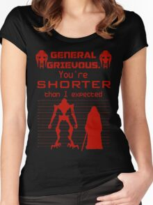 You're Shorter Than I Expected Women's Fitted Scoop T-Shirt