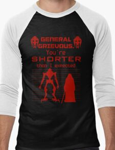You're Shorter Than I Expected Men's Baseball ¾ T-Shirt