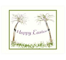 Happy Easter-Scrippler Art Print