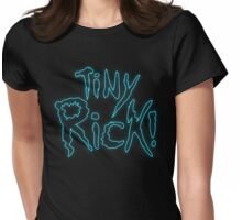 Rick & Morty-Tiny Rick! Womens Fitted T-Shirt