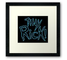 Rick & Morty-Tiny Rick! Framed Print