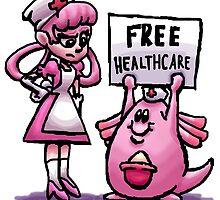 Nurse Joy's Free Healthcare by thealienbanana