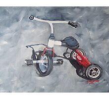 Original Oil Painting - First Wheels Photographic Print