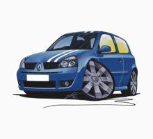 RenaultSport Clio 182 Blue Kids Clothes
