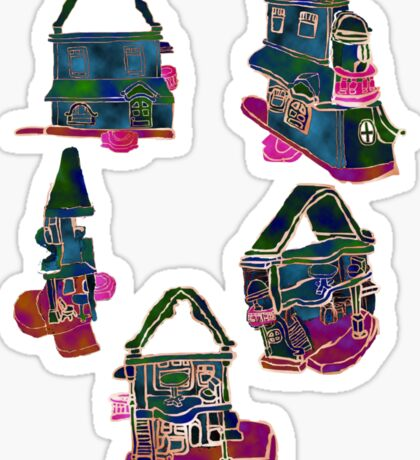 Views of a Dollhouse Sticker