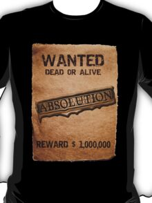 ABSOLUTION 2011 WANTED T-Shirt