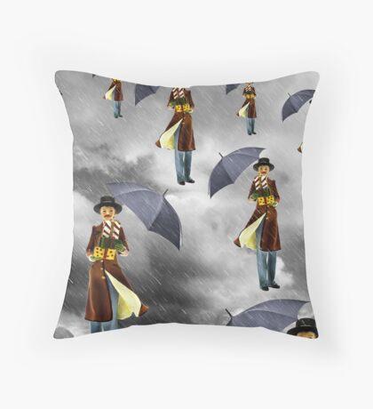 Homage to Rene Throw Pillow