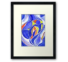 Personification of Father Framed Print
