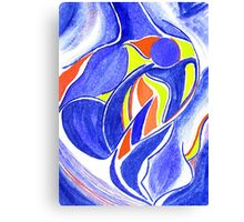 Personification of Father Canvas Print