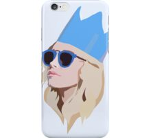 Queen Party Girl with Hat iPhone Case/Skin
