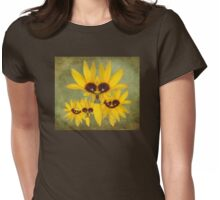 Mrs. Field Corn And The Kids Womens Fitted T-Shirt
