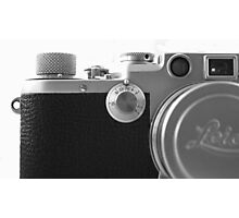 Old Leica Photographic Print