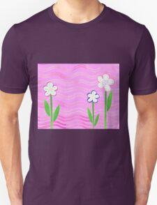 Freckled Flowers In The Garden Unisex T-Shirt