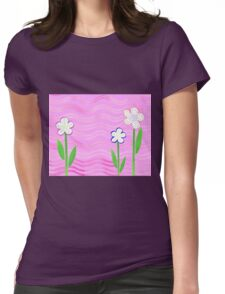 Freckled Flowers In The Garden Womens Fitted T-Shirt