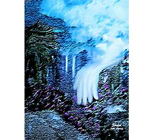 THE HAND FROM HEAVEN, MADE OUR GARDEN GROW!! Photographic Print