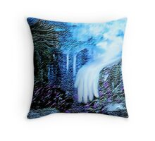 THE HAND FROM HEAVEN, MADE OUR GARDEN GROW!! Throw Pillow
