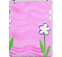 Freckled Flowers In The Garden iPad Case/Skin