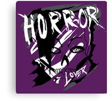 horror lover Canvas Print