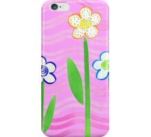 Freckled Floral Garden iPhone Case/Skin