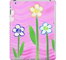 Freckled Floral Garden iPad Case/Skin