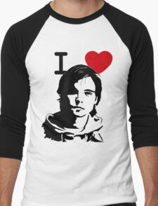 "I ""Heart"" Andrew Lee Potts Men's Baseball ¾ T-Shirt"