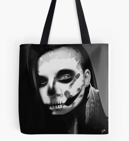 The Crow Black&White Tote Bag