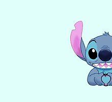 Stitch Loves You by 2cheekydisnerds