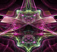 Reflections: Amethysts and Emeralds  (UF0178) by barrowda