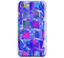 Vaporwave-3rd Dimension Pool Palette Seamless Pattern iPhone Case/Skin