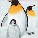 family of penguins by bymuravka