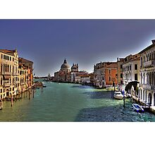 Canal Grande - View from Accademia Bridge - Venice Photographic Print